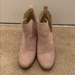Beige Ankle Boots 8.5